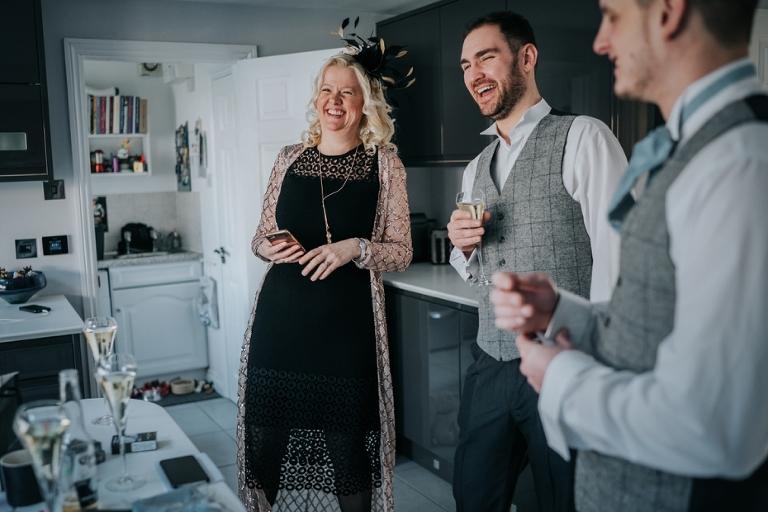 Oxford Four Pillars Wedding- Chloe & Chris - Lee Dann Photography - 0072