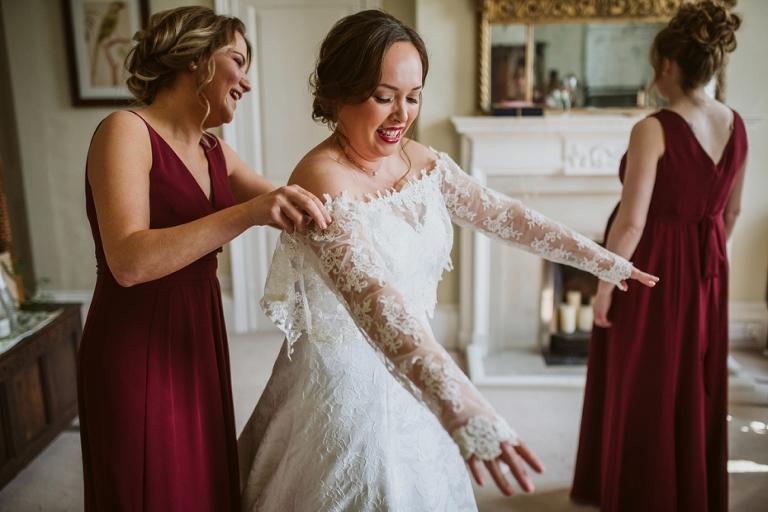 Ardington House Wedding - Donna & Alex - Lee Dann Photography - 0166