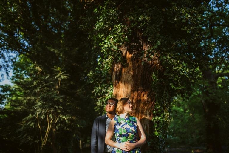 Greenwich Pre Shoot - Fern & Tijay - Lee Dann Photography - 0016