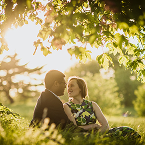 Greenwich Engagement shoot, Fern & Tijay