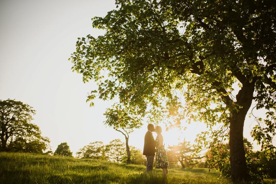 Greenwich park engagement shoot