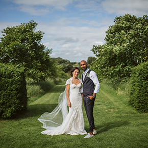 Intimate Calcot Manor wedding, Rachel & Mo