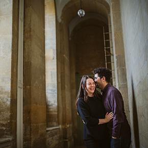 Blenheim Palace Engagement shoot, Kerry & Dan