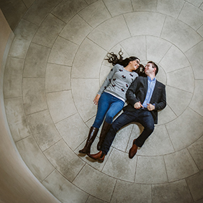 Brasenose College Engagement shoot, Stacey & James