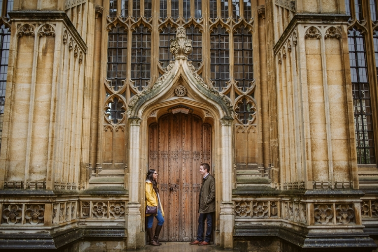 Bodleian Library engagement shoot